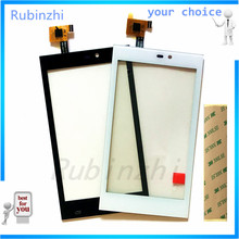 RUBINZHI Phone Touchscreen Sensor For Gigabyte Gsmart Roma R2 capacitive Touch screen Digitizer front glass replacement +tape