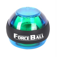 2017 Practice PowerBall Wrist Arm Exercise Strengthener Force Ball power exercise Without LED & Counter 4 Colors