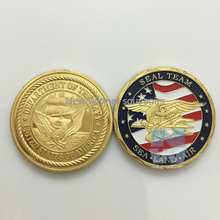 America seal team Challenge coin United sates Army Eagle American gold copy coins