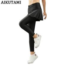 테니스 Skirt Women Sport Skirt 퀵 Drying Cropped Pants 테니스 Workout 배드민턴 Training Running Skirts Women 테니스 옷(China)