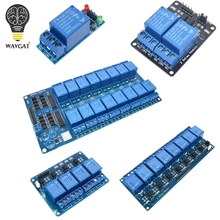 Buy 5V low level trigger 1 2 4 8 16 Channel Relay Module interface Board Shield PIC AVR DSP ARM MCU Arduino. for $22.50 in AliExpress store