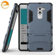 Huawei Honor 6X Case Huawei Honor 6X Cover Robot Armor Rubber Slim Hard Back Mobile Phone Cases For Huawei Honor 6X 2016(China)