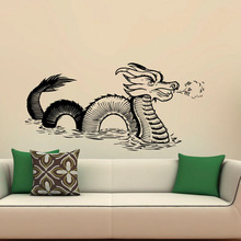 Gothic Style Dragon Wall Stickers Vinyl Good Quality DIY Wall Decor Decal Art Creative Design For Living Room