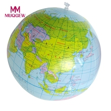 2017 Hot 40CM MINI Inflatable World Globe Teach Education Geography Toy Map Balloon Beach Ball for Kids Outdoor Toy DropShipping