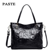 2017 Autumn and Winter New Fashion Style Women Handbags/ Top Genuine Cow Leather Shoulder bag/Soft Real Natural Cowskin Tote Bag