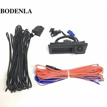 BODENLA RGB Rear View Reversing Camera RVC For VW Golf Plus Jetta 5 MK5 MK6 Tiguan Passat B7 RNS510 RCD510 56D 827 566A(China)