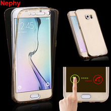 Nephy Mobile Phone Cover For Samsung Galaxy J3 J5 J7 2015 2016 J 3 5 7 Duos J500 J510 Case Silicon TPU Soft Clear Full Casing