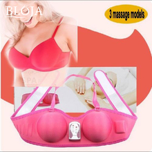 Electric Ladies Breast Enhancer Enlarge Beautiful Shape Vibrating Bra Enhance Massager bust  enhancer Grow Bigger&Breast Massage