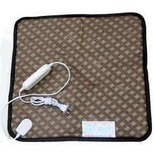 Dog Cat Electric Heated Mat Polyester Waterproof Pet Warm Heating Heater Pad Mat Blanket Bed 45cmx45cm 220V 20W 50Hz