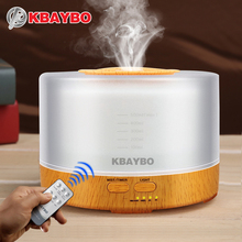 Remote Control Air Humidifier Essential Oil Diffuser Ultrasonic Mist Maker Fogger Ultrasonic Aroma Diffuser Atomizer 7 color LED