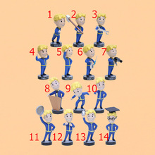 13cm Vault Boy Bobbleheads Series 1 Vault figure PVC Action Figure Games Character For Kid Toys christmas gift