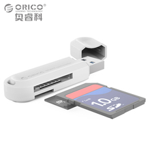 ORICO High Quality USB 3.0 All in 1 Multi Memory Card Reader for SD & TF Cards-Black(China)