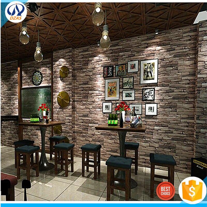 3d Solid Brick wallpaper retro new Chinese Brick Bricks Wallpapers DZAS-WH Wallpaper<br>
