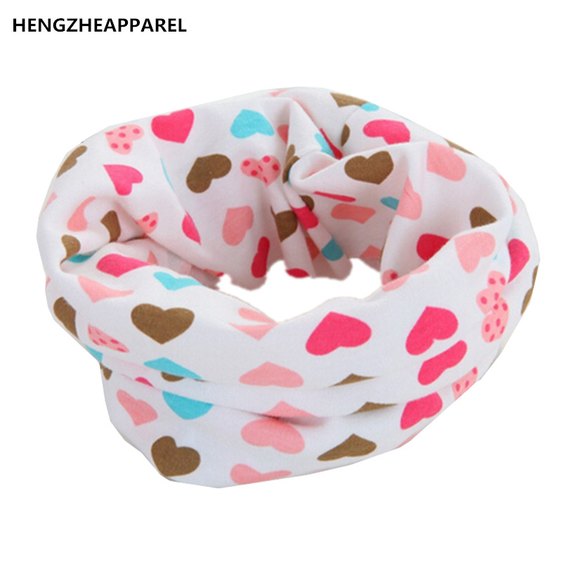 new fashion cotton heart icecream car bee cartoon baby scarf bibs kids O ring collars burp cloth infant child neckwear accessory