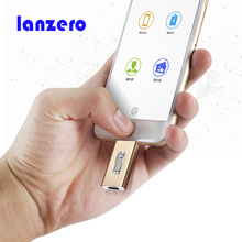 Lanzero For iphone otg Usb Flash Drive 64gb Usb Stick 32gb Pen Drive 16gb Usb Stick 8gb External Storage For iPhone 7/5/6/6 Plus