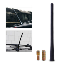 "DWCX 8"" Car Black Aerial Antenna Mast Car AM/FM Radio Short Stubby for Dodge Journey Avenger Charger Durango Magnum Dart Nitro"