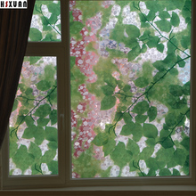 translucent window glass film 70x100cm pebble decor self adhesive sunscreen glass static tint window sticker Hsxuan brand 700615(China)