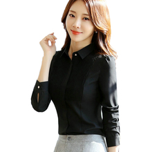 Buy 2018 New Fashion Blouses Women Clothing Long Sleeve Shirt Formal Chiffon Blouse Office Ladies Blusa Feminina Work Wear Tops for $15.80 in AliExpress store