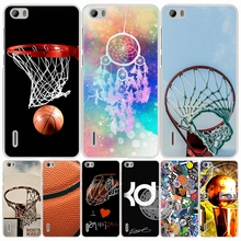 Basketball Logo La cell phone Cover Case for huawei honor 3C 4A 4X 4C 5X 6 7 8 Y6 Y5 2 II Y560
