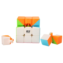 56mm Classic Magic Speed Cube 3x3x3 Block Puzzle Speed Cube Colorful Children Learning Educational Toy Puzzle Magic Cube Toys(China)