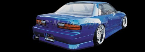 1989-1994 Nissan S13 Silvia PS13 BN Sports Style Side Skirts FRP (7)