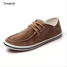 Spring and autumn new explosion models classic men's casual shoes to help low tide breathable men wild cowboy shoes(China)