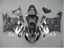 For SUZUKI GSX-R1000 K3 03 04 GSX R1000 K3 Black GSXR 1000 2003 2004 GSXR1000 Fairing Kit