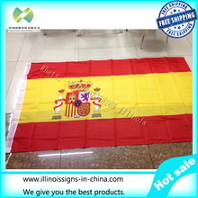 Spanish flag 90 * 150cm movements flag shop are sold world flags custom quality polyester celebration decoration free shipping