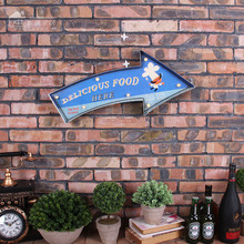 Neon Sign DELICIOUS FOOD HERE Led Light Sign Bar Club Coffee Shop Wall Decorative Metal Signs Paintings