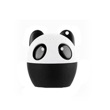 Portable Wireless Super Bass Stereo Bluetooth Speaker Soundbar Cute Panda Portable Bluetooth Mini Speakers Radio FM Player AU23a