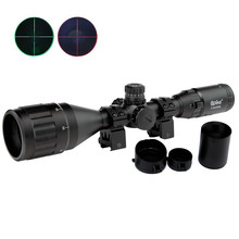3-9X50AOL Hunting Riflescope Tactical Optics Airsoft Air Guns Scopes Green/Red Dot Illuminated Sniper Pistol Reflex Rifle Sight