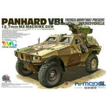 Estartek TIGER Block Military Tank Toys 1/35 Panhard VBL12.7  Armored Car Tank for Children Birthday Christmas Holiday Gift 4619