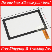 "20pcs/lot 7"" Capacitive Touch Screen with Glass Digitizer for 7inch Allwinner A13 Q88 BG830  MID Tablet PC Free Shipping"
