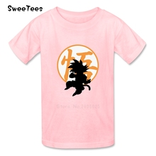 The Legend Of Goku Boys Girls T Shirt Cotton Short Sleeve O Neck Tshirt Children Clothing 2017 Best Selling T-shirt For Baby