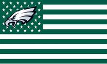 Philadelphia Eagles dark green Flag with Star and Stripe 3ftx5ft Banner 100D Polyester Flag metal Grommet(China)