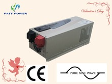 CE approved UPS function low frequency hybrid solar inverter 3000w with charger pure sine wave(China)