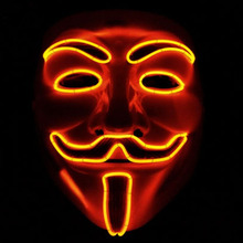 2016 New Hotsale Promotion Guy Fawkes Maske V Wie for Vendetta Mask Free Shipping