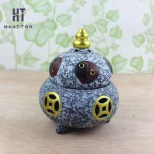 China Style Bagua Censer Buddha Tower Incense Burner Sandalwood Censer Aroma Burner F