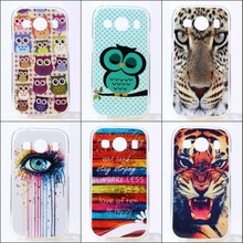 JOVO For Samsung Galaxy Ace Style LTE G357 G357FZ SM-G357FZ  IMD TPU Gel Phone Case Cover Owl New Style Patterns