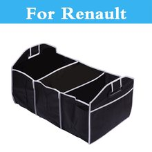 Car Organizer Storage Container Bags Box Stowing Tidying For Renault Sandero RS Symbol Talisman Twingo Twizy Vel Satis Wind ZOE
