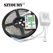 SZYOUMY Magic Running LED Strip 12V 5050 RGB Chasing Lamp Strip 54leds/m Outdoor Waterproof IP65 Remote for Garden Advertisement
