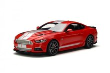 Resin Car Model GT Spirit Ford Mustang Shelby GT (Red/Silver) 1:18 + SMALL GIFT!!!!!!