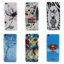 Colorful Bloom Flowers Scenery Patterns mi5 battery Back Cases Cover For Xiaomi mi 5 case Paint Hard PC Phone Cases Accessories