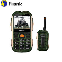 Unlocked Russian Polish Italian Arabic Spanish Bulgaria 8800mAh Dual SIM Card Power Bank Mobile Phone Walkie Talkie Rugged Phone