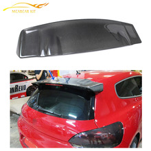 Carbon Fiber Rear Roof Window Wing Lip Spoiler For VW Scirocco 2010-2012 Custom Spoiler Car Styling