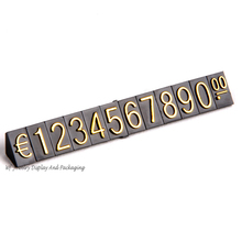 Plastic Dollar Euro Price Tag Jewelry Display Counter Props Combination Pricing Tags Jewelry Store Accessories Price Show Lable