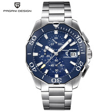 PAGANI DESIGN Men Business Automatic Mechanical Watches Full Steel Waterproof Luxury Fashion Dress Men Clock relogio masculino(China)