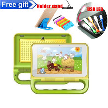 "Kids Design Tablet PC 7"" Quad Core tablet Android 4.2 Allwinner A31S 1GB/16GB Wifi IPS Ployer S6 study 4500mAh 1024*600"