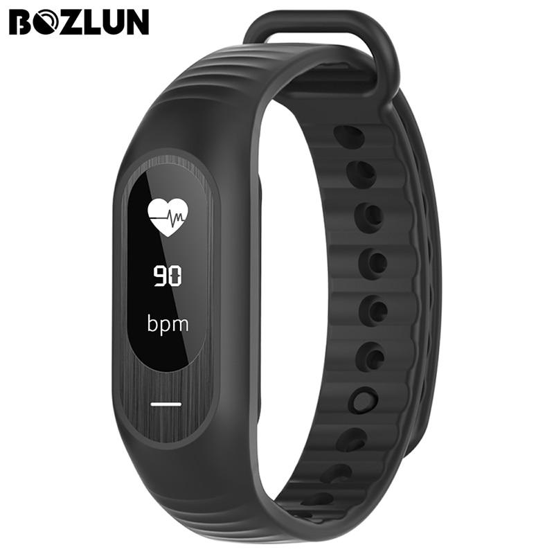 BOZLUN B15P Men Women Sport Smart Bracelet Heart Rate Touch Blood Pressure Sleep Monitor Call Reminder Calorie Alarm Watches<br><br>Aliexpress