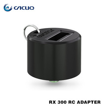 Original Avatar RC Adapter with Wismec RX300 Mod Converting 510 Connection into USB output for Wismec Reuleaux RX300 box mod